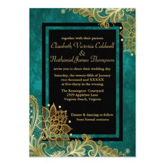 Lady Dewberry Wedding Invitation
