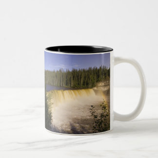 Lady Evelyn Falls Territorial Park, Northwest Two-Tone Coffee Mug