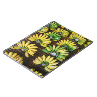 Lady Finger Bananas ~ Egg Banana (กล้วยไข่) Notebook