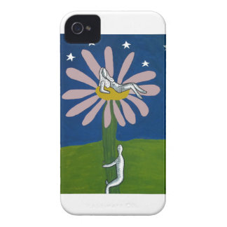 Lady Flower iPhone 4 Case-Mate Case