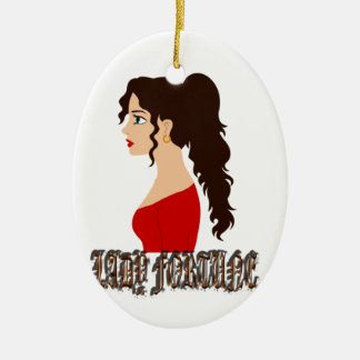 Lady Fortune Christmas Tree Ornaments