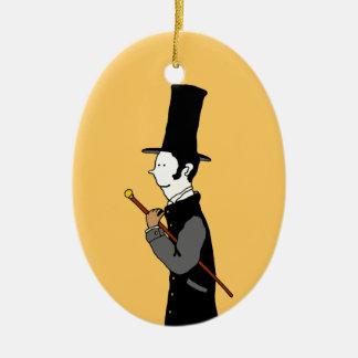 Lady & Gentleman Christmas Ornament