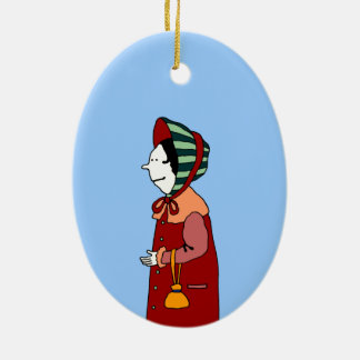 Lady & Gentleman Christmas Ornament