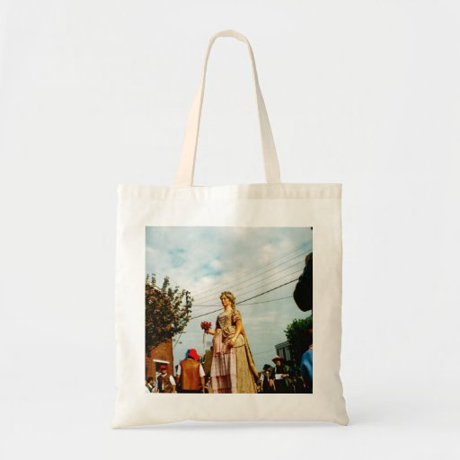 Lady Giant, Parade of the Giants, Flanders Tote Bag