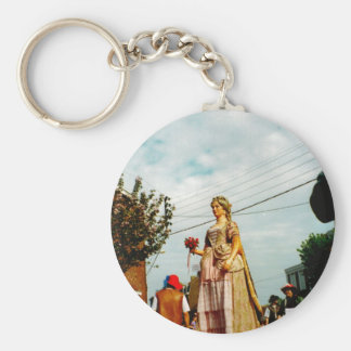 Lady Giant Parade of the Giants Flanders Key Chain