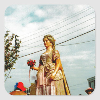 Lady Giant, Parade of the Giants, Flanders Square Sticker