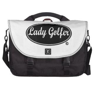 Lady Golfer Commuter Bag Computer Bag