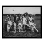 Lady Golfers Love Ice 1926 Poster