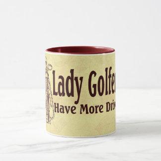 Lady Golfers Mug