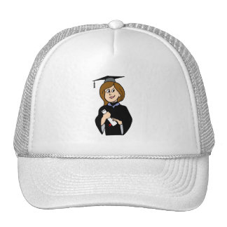 Lady Graduate Hats