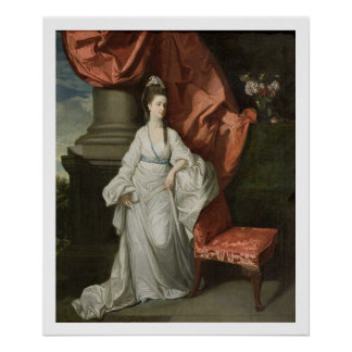 Lady Grant, Wife of Sir James Grant, Bt., 1770-80 Poster