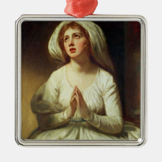 Lady Hamilton Praying Christmas Ornament