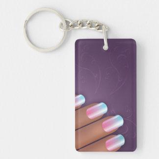 Lady Hand Key Chain