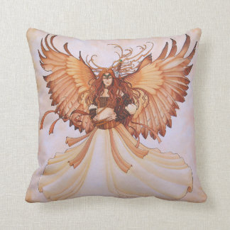 Lady Hawk Pillow
