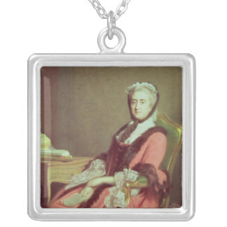 Lady Holland, 1766 Silver Plated Necklace
