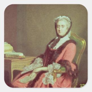 Lady Holland, 1766 Square Sticker
