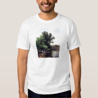 Lady in a boat antique painting shirts