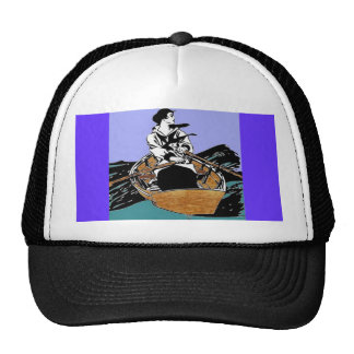 Lady In A Rowboat Hat