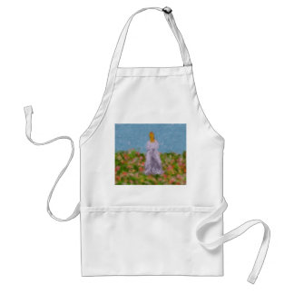 Lady in a Summer Field Apron