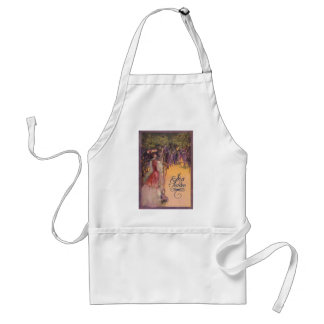 Lady in a Wisteria Garden Standard Apron