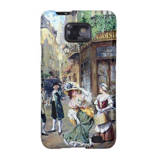 Lady in Europe antique painting Galaxy SII Case