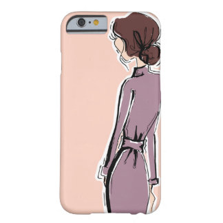 Lady in Lavender Barely There iPhone 6 Case