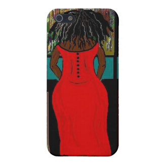 LADY IN THE KITCHEN Hard Case for iPhone 4 4S