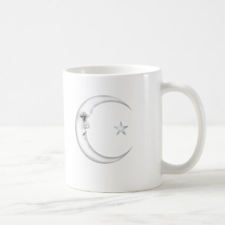 Lady in the Moon Coffee Mug