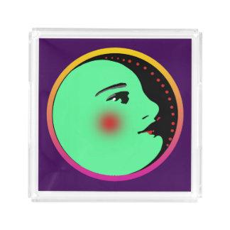 Lady in the Moon Small Custom Perfume Tray