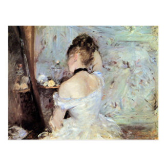 Lady in the Toilet by Berthe Morisot Postcard