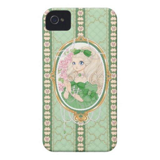 Lady Jewel BlackBerry Bold case (emerald)