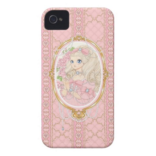 Lady Jewel BlackBerry Bold case (pink)