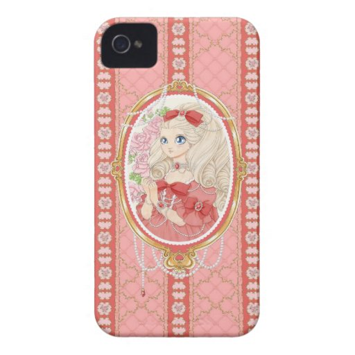 Lady Jewel BlackBerry Bold case (ruby)