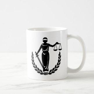 LADY JUSTICE CO. BASIC WHITE MUG