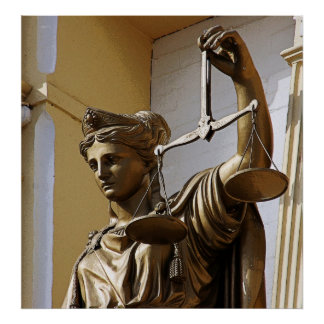 Lady Justice, Virginia City #5 Poster