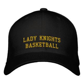 Lady Knights Basketball Embroidered Baseball Cap