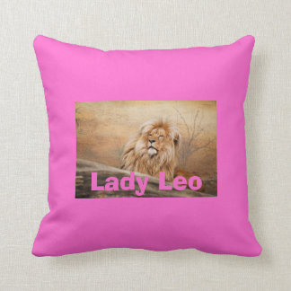 Lady Leo Lion Pillows