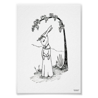Lady Lepus limited edition print