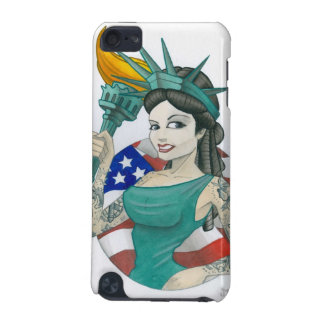 """Lady Liberty 2011"" iPod Touch (5th Generation) Covers"