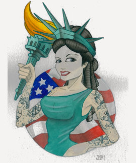 """""""Lady Liberty 2011"""" T-shirt"""
