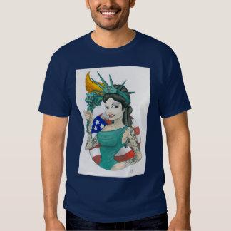 """""""Lady Liberty 2011"""" T-shirts"""