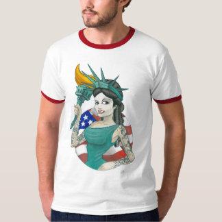 """Lady Liberty 2011"" Tee Shirt"