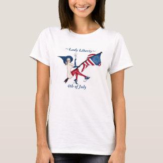 Lady Liberty 4th of July Tshirt