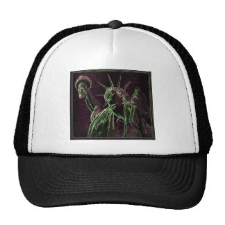 Lady Liberty A GLOW Trucker Hat