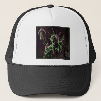 Lady Liberty A GLOW Trucker Hat