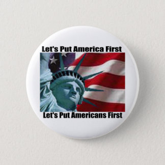 Lady Liberty button