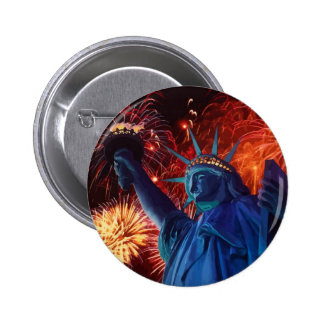 Lady Liberty Buttons