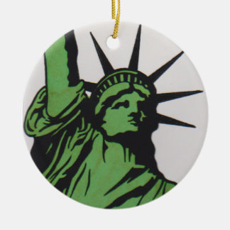 LADY Liberty by David Smith Ornament 007