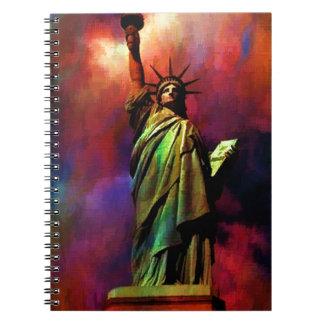Lady Liberty C jpg Note Book