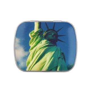 lady liberty candy tins